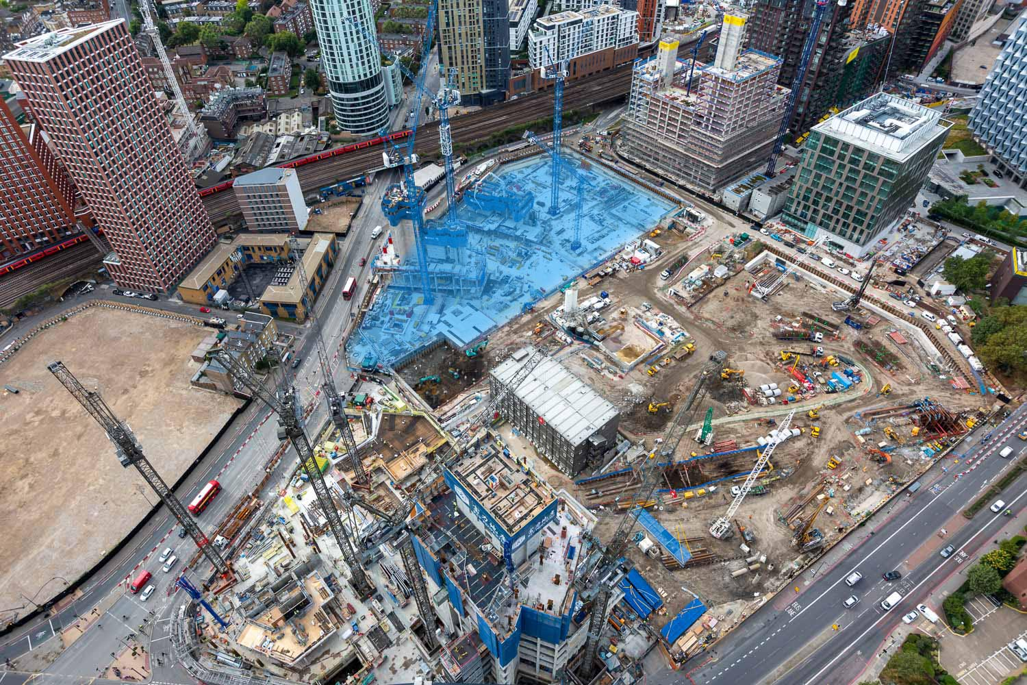 nine elms square site